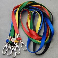 5 10 20 50 pcs Lanyard Neck Straps Swivel Hook ID card Badge Clip 5 color I65Mx
