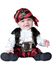 Child Infant Pirate Captain Outfit Fancy Dress Costume Caribbean Kids Boys Girls