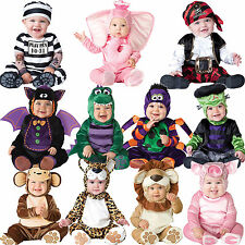 Baby Halloween Fancy Dress Up Costume Outfit Animal Boy Girls Babygrow Book Week