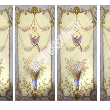Dolls House Victorian Wall Panels choose from 1/12th or 1/24th scale #209