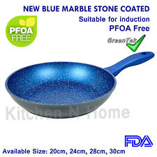 Non-Stick Frypan, Fry Pan, Blue Stone Coated, Pan★Induction★Ceramic★Cookware