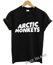 ARCTIC MONKEYS T SHIRT CLASSIC LOGO INDIE ROCK BAND MUSIC TOUR MUSIC DOPE SWAG
