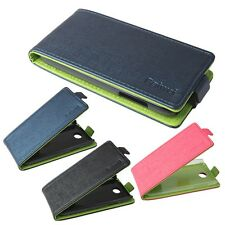 NEW Mixed color For Lenovo A516 PU leather Cell Phone Flip Case Cover Skin Pouch