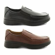 NEW MENS GENTS CASUAL COMFORTABLE OFFICE BUSINESS SLIP ON SHOES UK SIZES 7-12