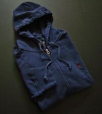 Nwt Polo Ralph Lauren Blue Little Pony French Terry Patina Hooded Sweatshirt