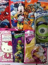 Character Surprise Filled Party Bags,Spider man,Ninja Turtles,Princess,Monsters