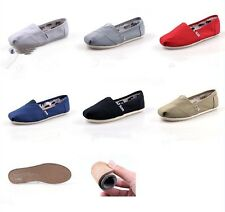 D05 Hotsale Women/Men's Natural Linen Burlap Canvas Unisex Shoes Casual shoes US