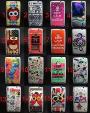 New Owl Cake Variety Tpu Gel Soft Skin Case Cover For Nokia Lumia 520