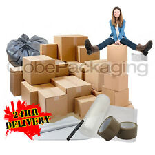 ECONOMY HOUSE MOVING CARDBOARD BOX REMOVAL MOVING PACKING BOXES KITS *ALL SIZES*