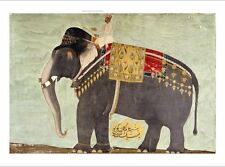 """DECORATIVE CANVAS PRINT """"Elephant"""" NEW ON CANVAS choose SIZE, from 55cm up, NEW"""