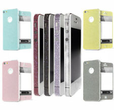 Pure Full Body Decal Skin Sticker Wrap Case Cover For Apple iphone 5 5TH 5S SE