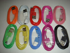 8 Pin USB Data Sync Charger Cable Cord for iPhone 5 5S  iPod ios7 ios6 1m  long