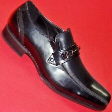 NEW Men's ROCK REPUBLIC DONTE Black Loafers Slip On Formal Casual/Dress Shoes