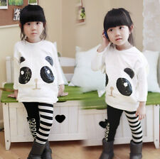 Lovely Kids Clothing Toddlers Girls White Color T-Shirts Shirts Coat 3-8Y Tops