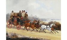 HENRY ALKEN Dover To London Coach In Summer new CANVAS! various SIZES, BRAND NEW