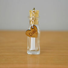 Unique Fathers Day Personalised Message In a Bottle Present Gift For Father's