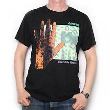 GENESIS T SHIRT - INVISIBLE TOUCH 100% OFFICIAL PHIL COLLINS PROG ROCK T SHIRT