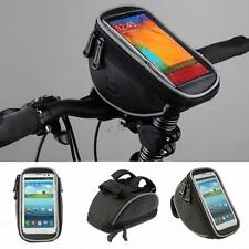 Bike Bicycle Cycling Front Frame Handlebar Bag For iPhone 6 5S Samsung S5 Note 3