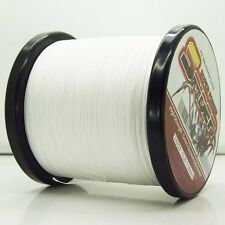 2000M/2187yds White 6LB-100LB Super Strong Dyneema PE Braided Fishing Line