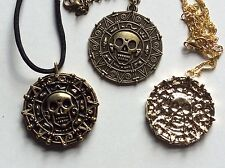 "PIRATES OF THE CARiBBEAN - Jack Sparrow ""Elizabeth Swann Coin Pendant Film Prop"
