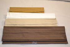 JCPenney CONCORD CORDLESS TEXTURED FABRIC ROMAN SHADE Blind LINED 64L