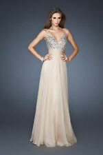 Sexy beaded ball gown party party night bridesmaid dresses Size6 ---16