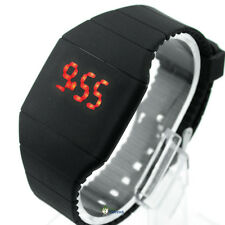NEW Fashion Classical Mini Color LED Silicone Mens Lady Sport Wrist Watch Date S