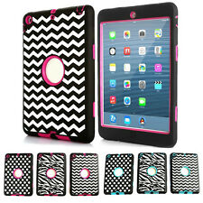 Latest Hybrid 3-in-1 Case Cover Skins Housing For Apple iPad Mini 2 Protectors