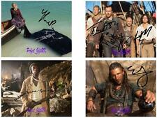 Black Sails (1-4 Set) SIGNED AUTOGRAPHED 10X8 REPRO PHOTO PRINT Stephens Mcgowan