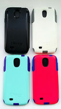 AUTHENTIC OtterBox Commuter Case for Samsung Galaxy S4 Black,White,Pink,AquaBlue