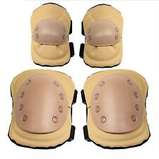 T114 US Blackhawk Knee Elbow Airsoft Tactical Knee&Elbow Protective Pads Set