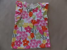 NWT Girl's Gymboree Tea Time Afternoon flower short sleeve shirt ~ 4 6 FREE SHIP