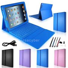 Stand PU Leather Case Cover with Bluetooth Keyboard for Apple iPad 2 3 4 New #X