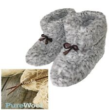 100% Pure Sheep's Wool, Women's High Slippers/  best price as the producer