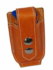NEW Barsony Tan Leather Single Mag Pouch Kimber Ruger 380 & Ultra Compact 9mm 40