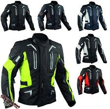 Biker Motorcycle CE Armours Warterproof Textile Touring Jacket Thermal Layer