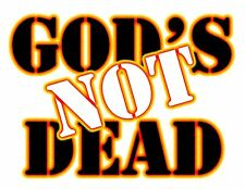 God's Not Dead Fire Religion Bible verse God Jesus digital print tshirt
