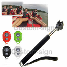 Remote Self-Timer Camera Shutter Wireless Bluetooth  For Android Phone Iphone