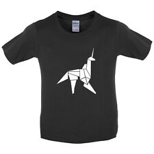 Origami Paper Unicorn - Kids / Childrens T-Shirt - Movie - 3-14 Years