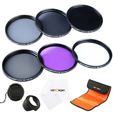 UV CPL FLD ND2 ND4 ND8 ND Lens Filter Kit For Canon Nikon 52 55 58 62 67 72 77mm