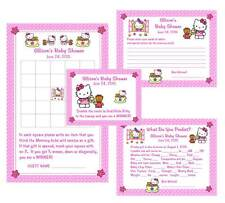 Hello Kitty Tea Party Baby Shower Game Package #1