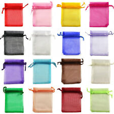 7x9cm Premium ORGANZA Wedding Favour GIFT BAGS Jewellery Pouches
