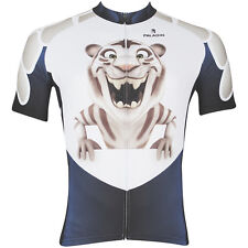 New Mens Cycling Jersey Rider Clothing Bicycle Bike Wear Cartoon Tiger S-3XL