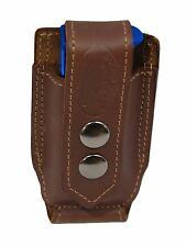 NEW Barsony Brown Leather Single Mag Pouch Kimber Ruger 380 & Ultra Comp 9mm 40