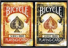 CARTE DA GIOCO BICYCLE  SERIES 1800,poker size,by Ellusionist