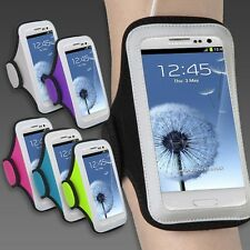Sports Workout Running Armband Case Cover for *LARGE Size Mobile Smart Phones