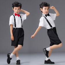 4 Pieces Boys Baby Communion Birthday Wedding Formal  Clothes Outfit Suit