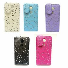 BLING GLITTER INVARIOUS COLORS PULEATHER FLIP CASE FOR SONY XPERIA SP M35H C5302