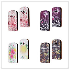 PU Leather Magnetic wallet Cover Flip Case for SAMSUNG GALAXY MINI 2 S6500 #2
