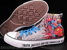 Converse SUPERMAN Man of Steel DC COMICS Chuck Taylor All Star Sneaker 141260C